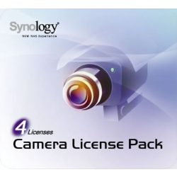 Synology Camera License pack 4 kamerához