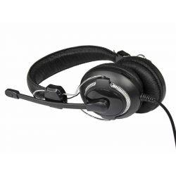 Media-Tech MAURIS MT3563 mikrofonos fejhalgató