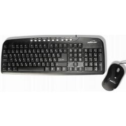 Silverline MMS-8890 Fekete USB-s Billentyűzet + egér