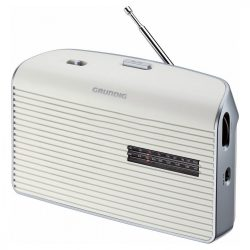 Grundig Music 60W hordozható rádió fehér/ezüst
