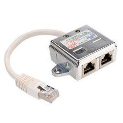 Value MYWA-04 2xRJ45 Ethernet elosztó