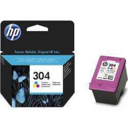 HP (N9K05AE BA3) 304 színes patron