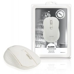 Sweex Wireless mouse fehér PISA NPMI5180-01