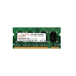 CSX O-D2-SO-800-8C-1GB 1GB 800MHz DDR2 notebook memória