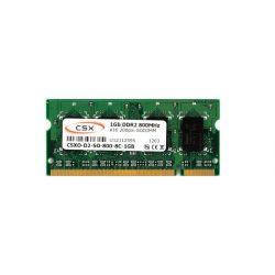 CSX O-D2-SO-800-8C-1GB 1GB 800MHz DDR2 notebook memória
