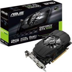 Asus PH-GTX1050-2G nVidia GTX1050 2GB GDDR5 PCI-Ex grafikus kártya