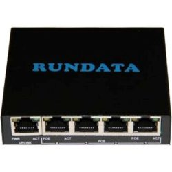 Rundata PS504 4+1 port POE Switch