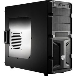 Cooler Master Elite Knight 350 RC-K350-KWN2 ATX PC fekete ház