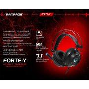 Rampage RM19 Forte-Y 7.1 gamer fejhallgató