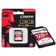 Kingston 128GB SDXC Canvas React memóriakártya