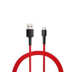 Xiaomi Mi Braided USB-C kábel, 1m, piros