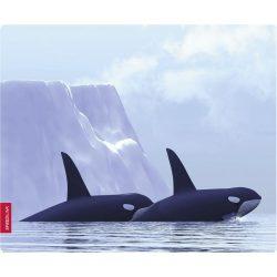Speedlink SL6242-orca SILK egérpad bálnák