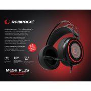 Rampage SN-R7 Mesh Plus 7.1 gamer fejhallgató