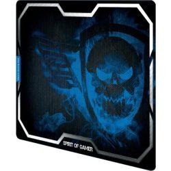 Spirit of Gamer Smokey Skull Blue egérpad