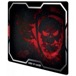 Spirit of Gamer Smokey Skull red egérpad