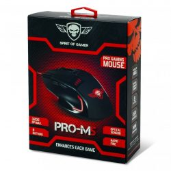 Spirit of Gamer Pro-M5 gamer egér 3200DPI
