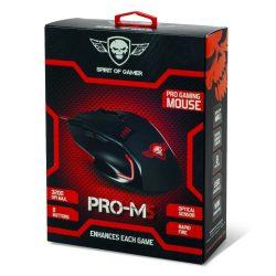 Spirit of Gamer Pro-M5 gamer egér 3200DPI