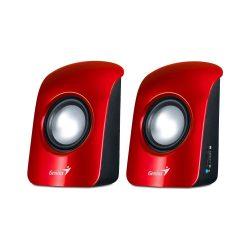 Genius SP-U115 Stereo USB hangfal piros