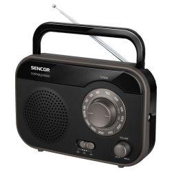 Sencor SRD210B hordozható rádió