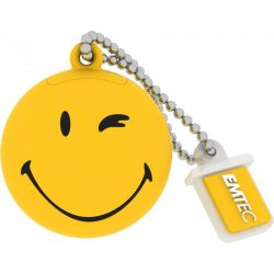 Emtec SW100 8G 8GB USB2.0 Smiley Yellow pendrive