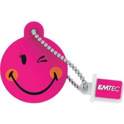Emtec SW107 8G 8GB USB2.0 Smiley Pink pendrive