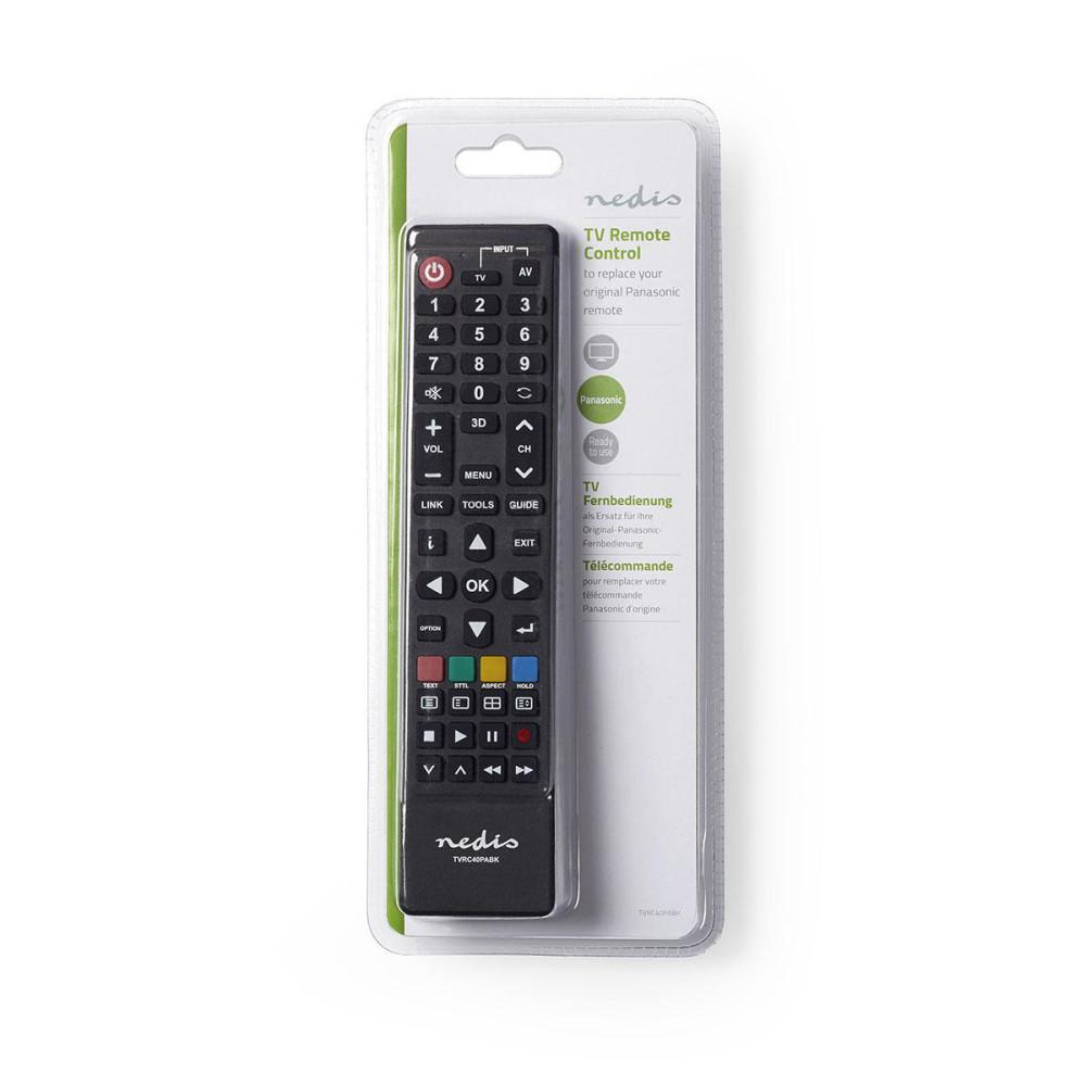 72aa396a0719 Nedis TVRC40PABK utángyártott távirányító PANASONIC tévékhez ...