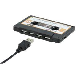 BasicXL Tape 4 portos USB HUB