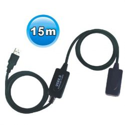 Viewcon VE717 Aktív USB2.0 hosszabbító 15M