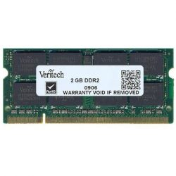 Veritech 2GB 800MHz DDR2 Notebook memoria