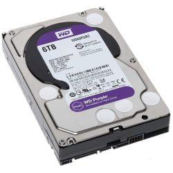 "Western Digital 3,5"" 6000GB SataIII 64MB Purple WD60PURZ merevlemez"