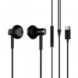 Xiaomi Mi Dual Drive Earphones (Type C) sztereó fülhallgató, fekete