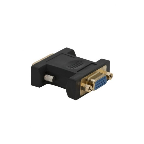 Globiz DVI dugó - VGA (DSUB) aljzat, aranyozott