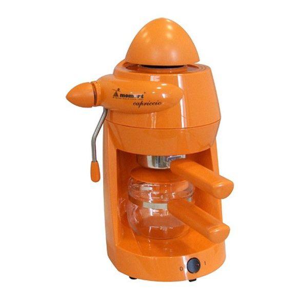 Momert Capricco 1164-K kávéfőző narancssárga
