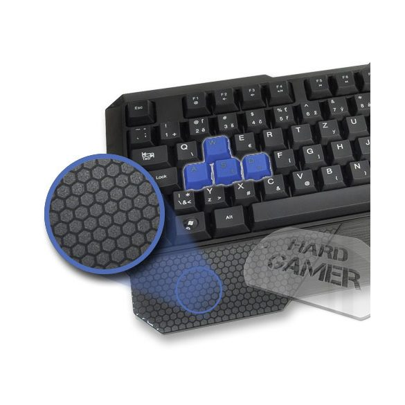 Hama URAGE LETHALITY GAMING Billentyűzet USB vezetékes