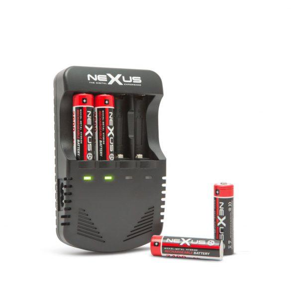 Nexus AA/AAA akkutöltő