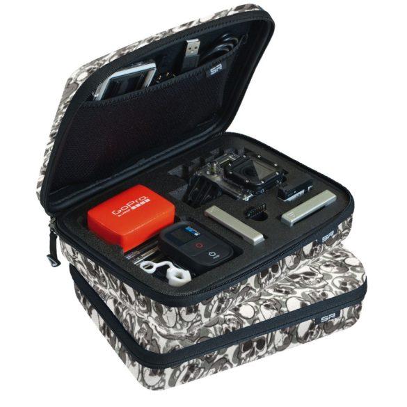 SP POV Skull Case kis méretű táska GoPro kamera és tartozkaihoz