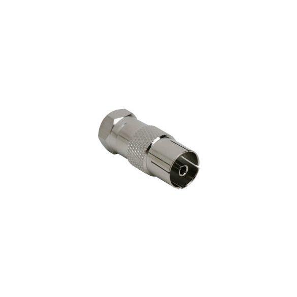 Globiz F-dugó - koax aljzat adapter