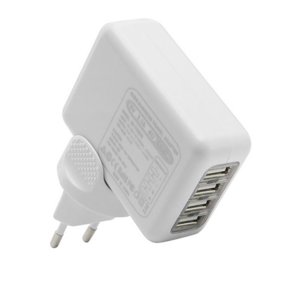 DeLight USB Travel Charger 5V, 2,1A, 10,5W