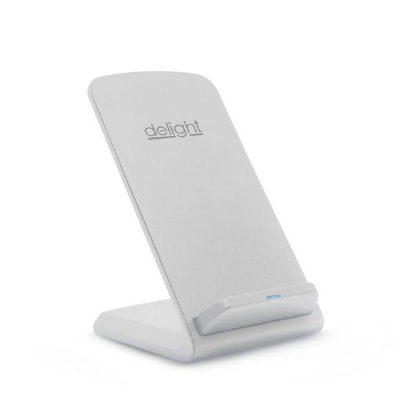 Delight 55161WH vezeték nélküli asztali töltőállomás, fehér, 1,2A