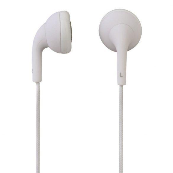 Hama Joy 93057 mikrofonos fülhallgató fehér színben
