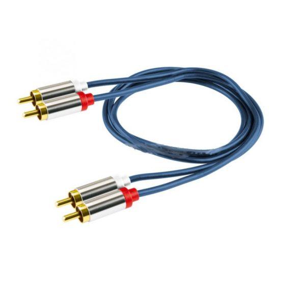 Home A3-1M 2RCA - 2RCA kábel, 1m