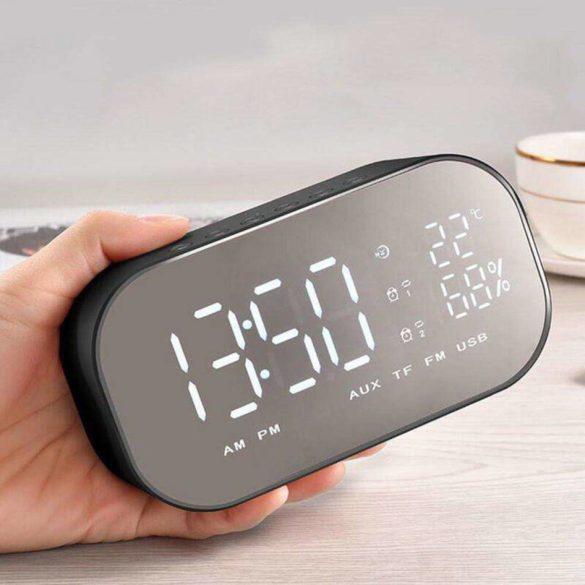 Akai ABTS-S2 Bluetooth hangszóró ébresztőórás rádióval
