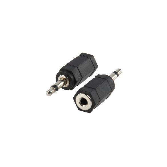 HQ 3,5mm sztereó - mono jack átalakító adapter