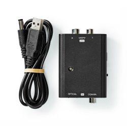 Nedis ACON2509BK Digital / Analog audio konverter