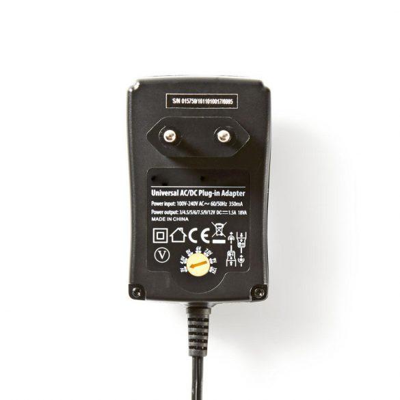 Nedis ACPA002 hálózati adapter 12V, 1.500mA
