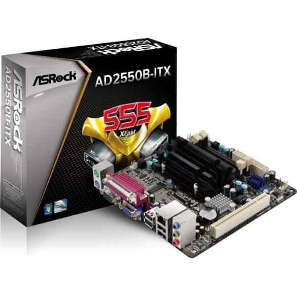AsRock AD2550B-ITX alaplap