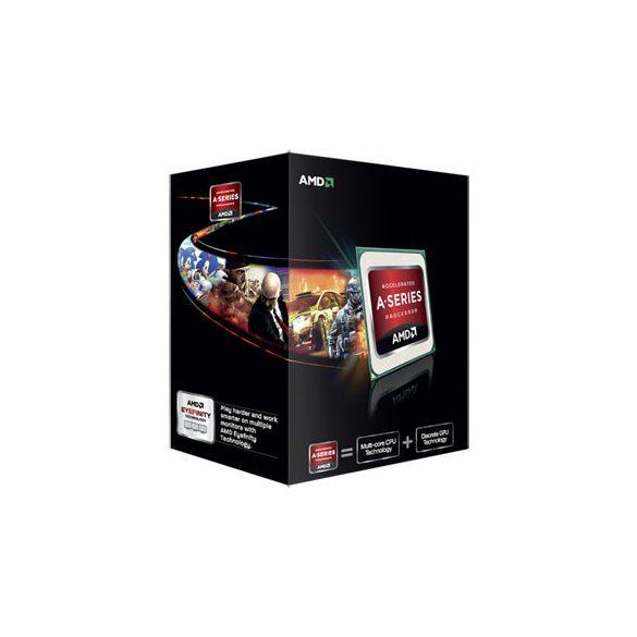 AMD A6-5400K Trinity 3.6G fm2 processzor