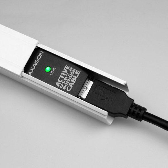 Axagon ADR-205 aktív USB hosszabbító, 5m