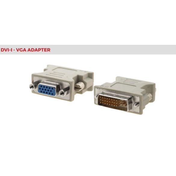 Gembird DVI-I-VGA átalakító