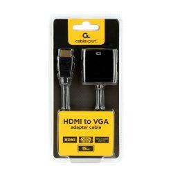 Gembird HDMI VGA átalakító 15cm